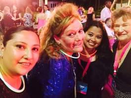 Ari, Me, and Sharon in the Bahamas